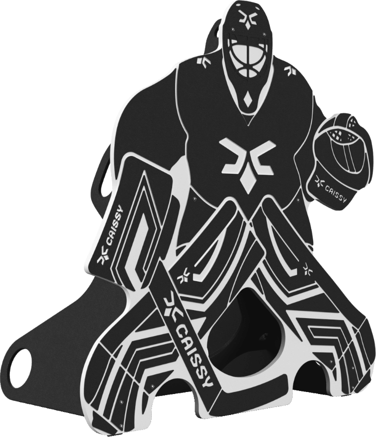 Gardien de grande taille noir